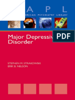 (Oxford American Psychiatry Library) Stephen Strakowski, Erik Nelson - Major Depressive Disorder-Oxford University Press (2015)