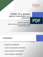 Alcohol y COVID19 Bartolomé Pérez 20 de mayo del 2020