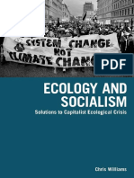 WILLIAMS, Chris. Ecology and Socialism, solutions to capitalist ecological crisis.pdf