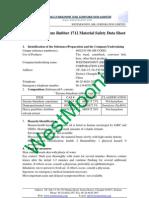 Styrene-Butadiene Rubber 1712 Material Safety Data Sheet
