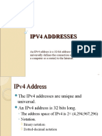ipv4 and ipv6 info