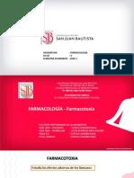 Farmacologia CLASE  8