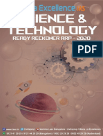 Science & Technology Ready Reckoner RRP 2020