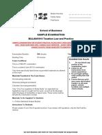 BULAW5916 sample exam