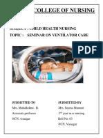 seminar on venilator care (2)