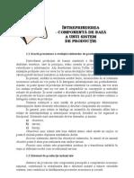 C1.INTREPRINDEREA – COMPONENTA DE BAZA A UNUI SISTEM DE PRODUCTIE