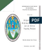 Arquitectura Hidráulica Maya en el Sitio Yaxhá,Petén.pdf