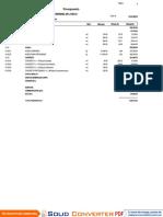REPORTE - PresupuestoCliente Estandar cliente
