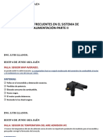 FALLAS COMUNES EN EL SISTEMA DE ALIMENTACION PARTE II