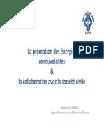 La_promotion_des_énergies_renouvelables_&_la_collaboration_avec_la_société_civile
