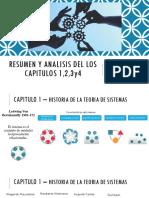 Resumen y analisis del los capitulos 1,2,3y4