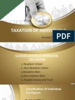 Individual Taxation