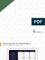 SESIÓN 2 INVOP2 - PROGRAMACIÓN LINEAL ENTERA BINARIA - PRESENTACIÓN.pdf