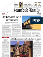 The Stanford Daily, Jan. 11, 2011