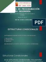 ALGORITMOS  DE  PROGRAMACIÓN  PARA  INGENIERÍA SESION 7, 8 y 9