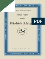 (Sammlung Metzler) Klaus Peter (auth.)-Friedrich Schlegel-J.B. Metzler (1978).pdf