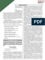 DECRETO SUPREMO Nº 015-2020-EM