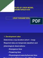 Rice Crop Parameters