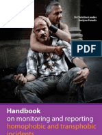 Handbook on Monitoring and Reporting Homophobic and Transphobic Incidents
