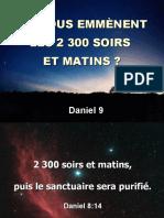 5 OU NOUS EMMENENT LES 2 300 SOIRS ET MATINS