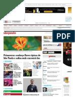 Revista sãopaulo - a revista da Folha com o melhor de São Paulo