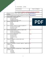 Teste+Biochimie Lipide