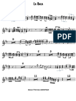 La Bala - Trumpet in Bb 1