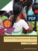VillageAction Womens Empowerment Report