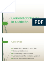 Clase 1 - Nutrición Básica