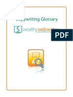 Glossary for Online Copywriting