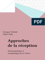 Approches de la réception. Sémiostylistique et sociopoétique de Le Clézio by Georges Molinié Alain Viala (z-lib.org).epub