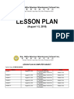 LESSON PLAN- 6th WEEK - August 1-3, 2018.docx
