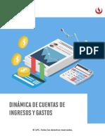 DE180_SEM9_Dinamica de las cuentas de ingresos y gastos