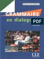 Grammaire en dialogues-Niveau Intermédiaire-Claire Miquel livre+corriges