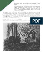 Paul Valery Sobre Degas y La Danza