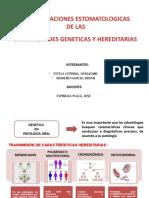 exposicion- enfermedades geneticas
