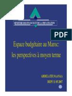Espace Budg Maroc Depf