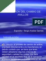 MONTAJE DE ANILLOS