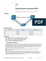 2.1.2 Lab - Observe STP Topology Changes and Implement RSTP - ILM.docx