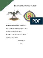 Investigacion formativa 2da unidad teoria contable