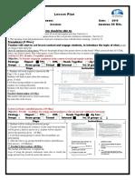 present continous unit 1 lesson plan