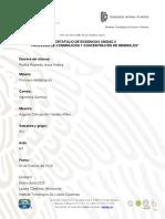 PORTAFOLIO DE EVIDENCIAS UNIDAD II PROCESOS DE CONMINUCION Y CONCENTRACION DE MINERALES.docx