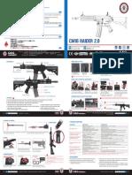 G&G CM16 Raider 2.0 Instructions