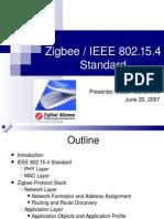 Zigbee Standard Talk