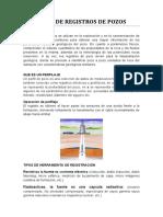 TIPOS DE REGISTROS DE POZOS