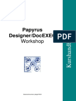 Papyrus_DesignerDocEXEC_Workshop