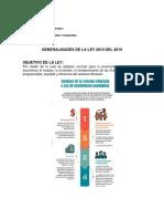 Generalidades de la Ley 2010 de 2019