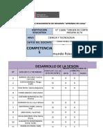 ANEXO 3 - Ficha de seguimiento APRENDO EN CASA - Segunda Semana