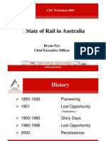 ARA - State of Rail in Australia 2009