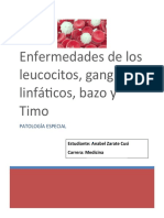 WORD patologia Leucocitos